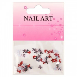 Butterfly Rhinestones Red