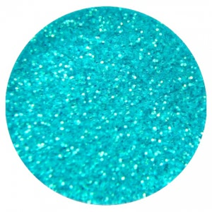 Sclipici Unghii Glitter Powder Bright Blue