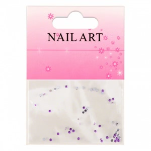 Pietricele Nail Art 1mm Mov